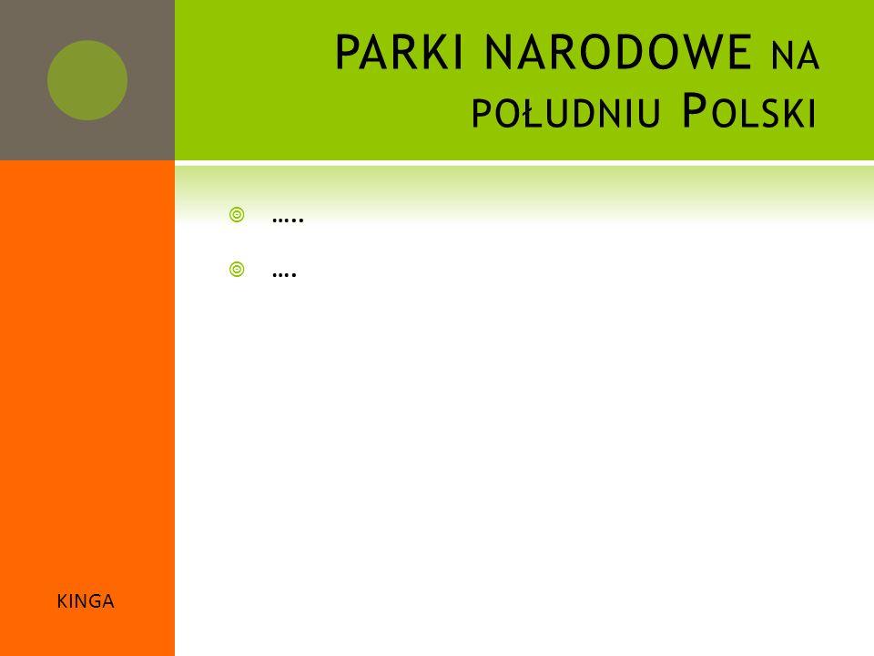 PARKI NARODOWE na południu Polski