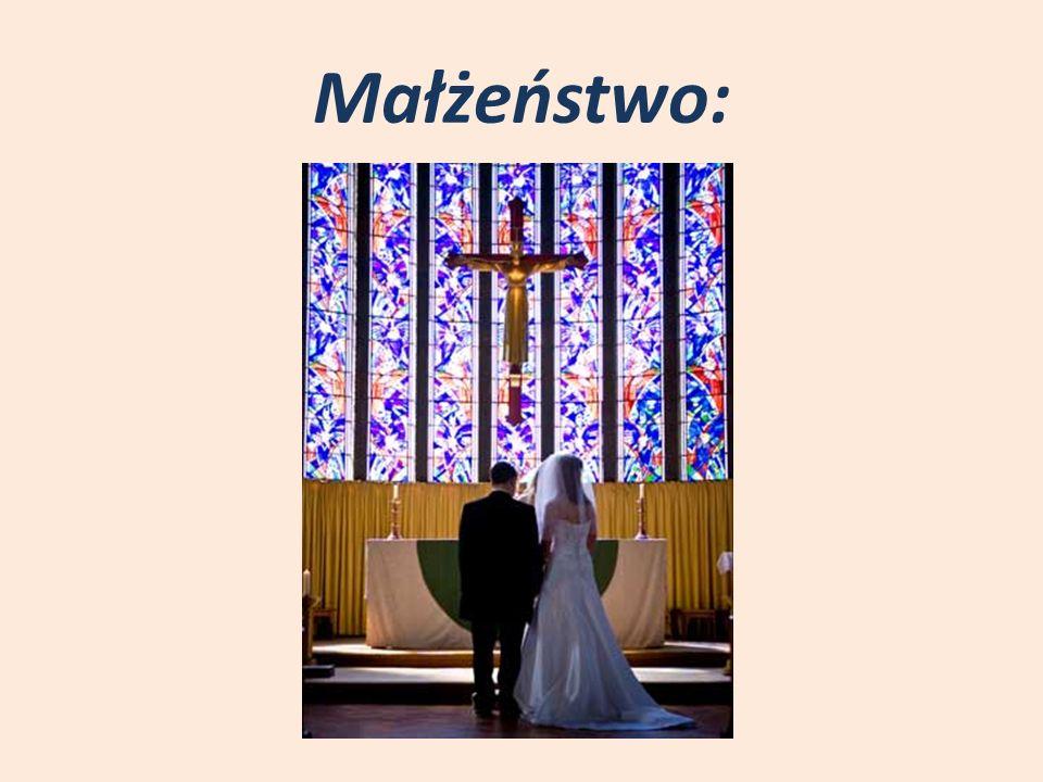 Małżeństwo: