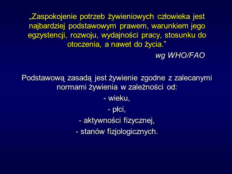 stanów fizjologicznych.