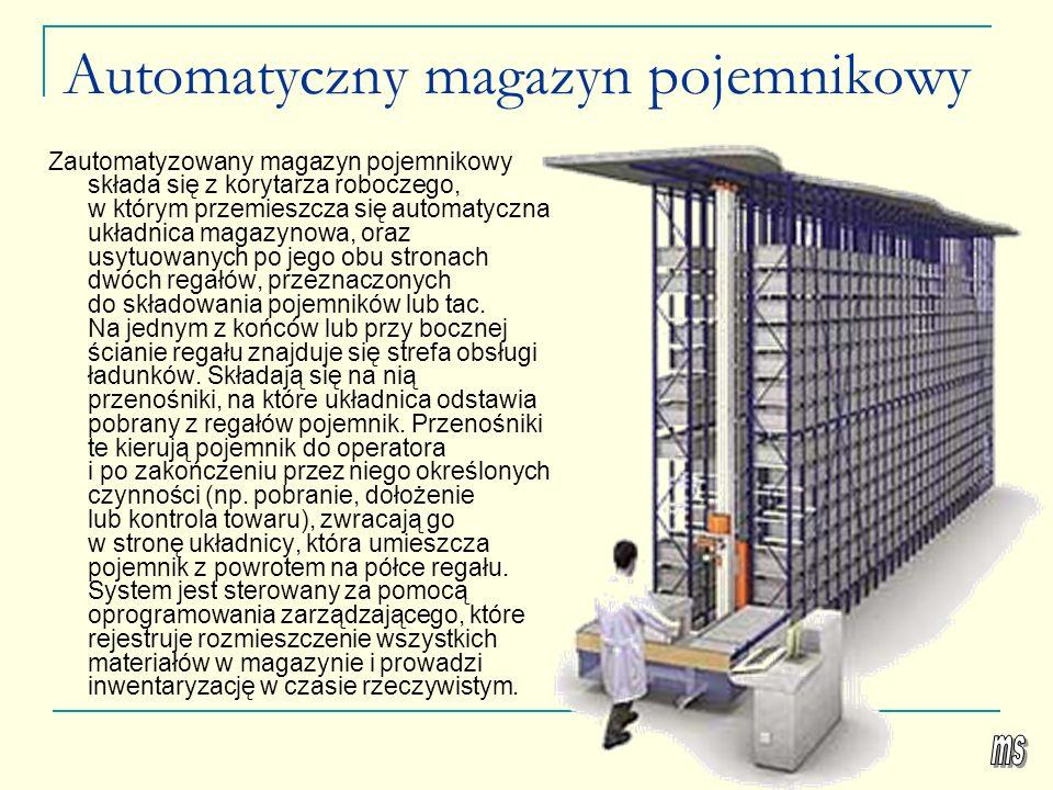 Automatyczny magazyn pojemnikowy