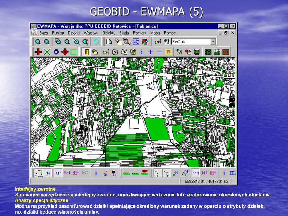 GEOBID - EWMAPA (5) Interfejsy zwrotne
