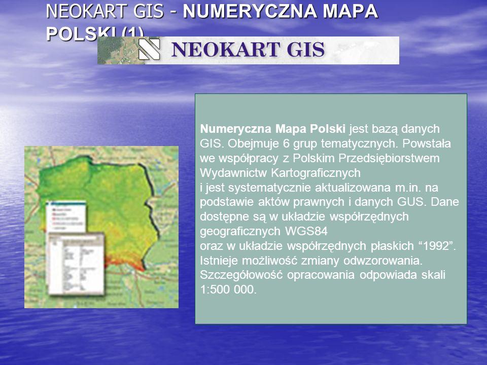 NEOKART GIS - NUMERYCZNA MAPA POLSKI (1)