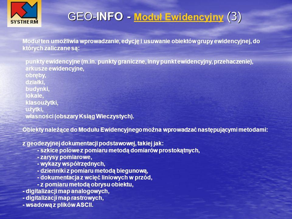 GEO-INFO - Moduł Ewidencyjny (3)