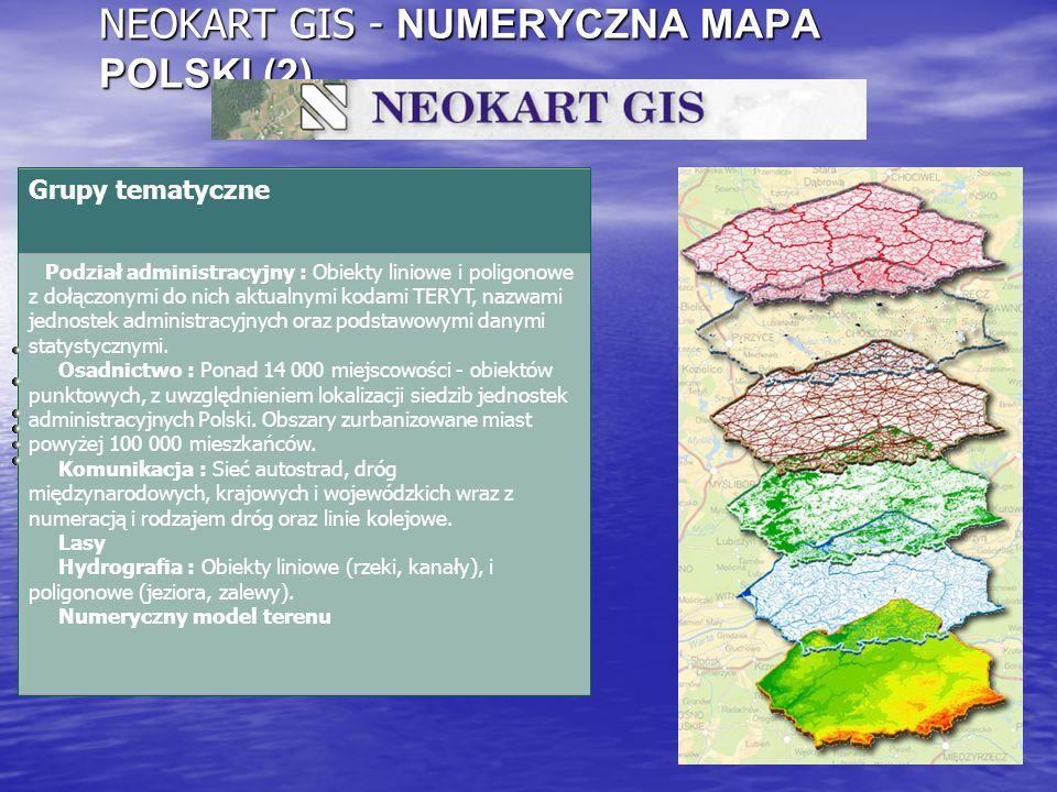 NEOKART GIS - NUMERYCZNA MAPA POLSKI (2)