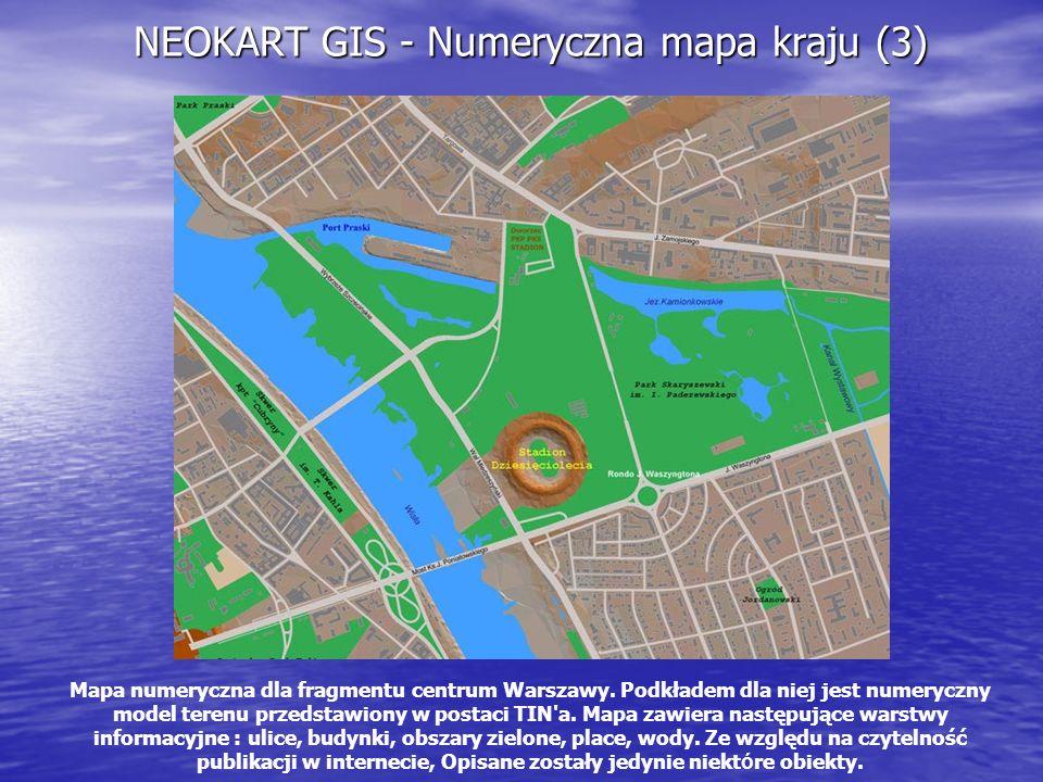 NEOKART GIS - Numeryczna mapa kraju (3)