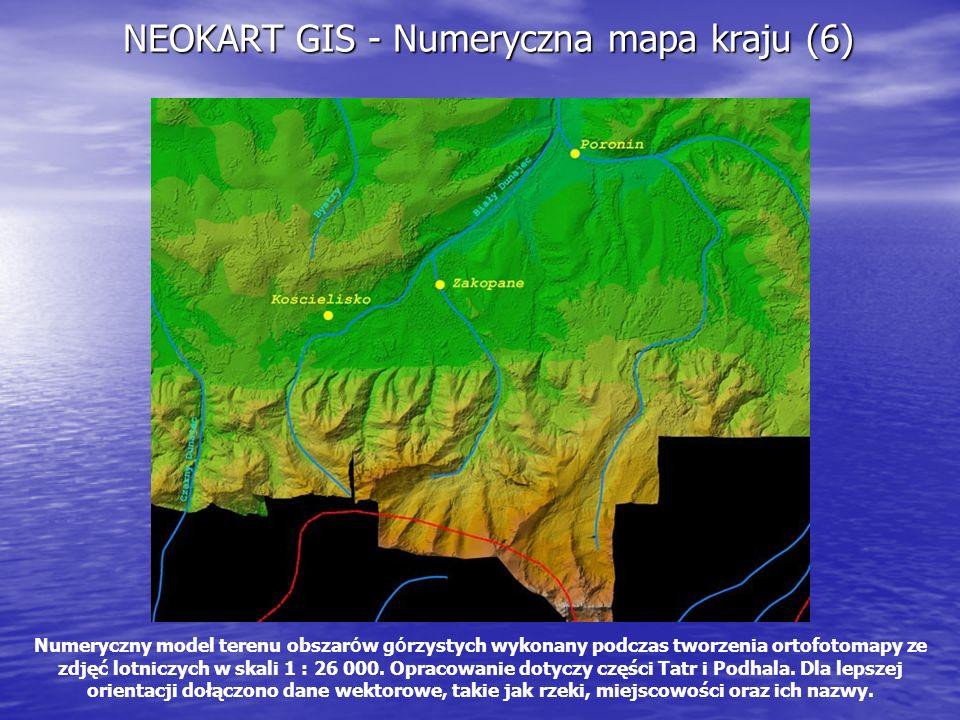 NEOKART GIS - Numeryczna mapa kraju (6)