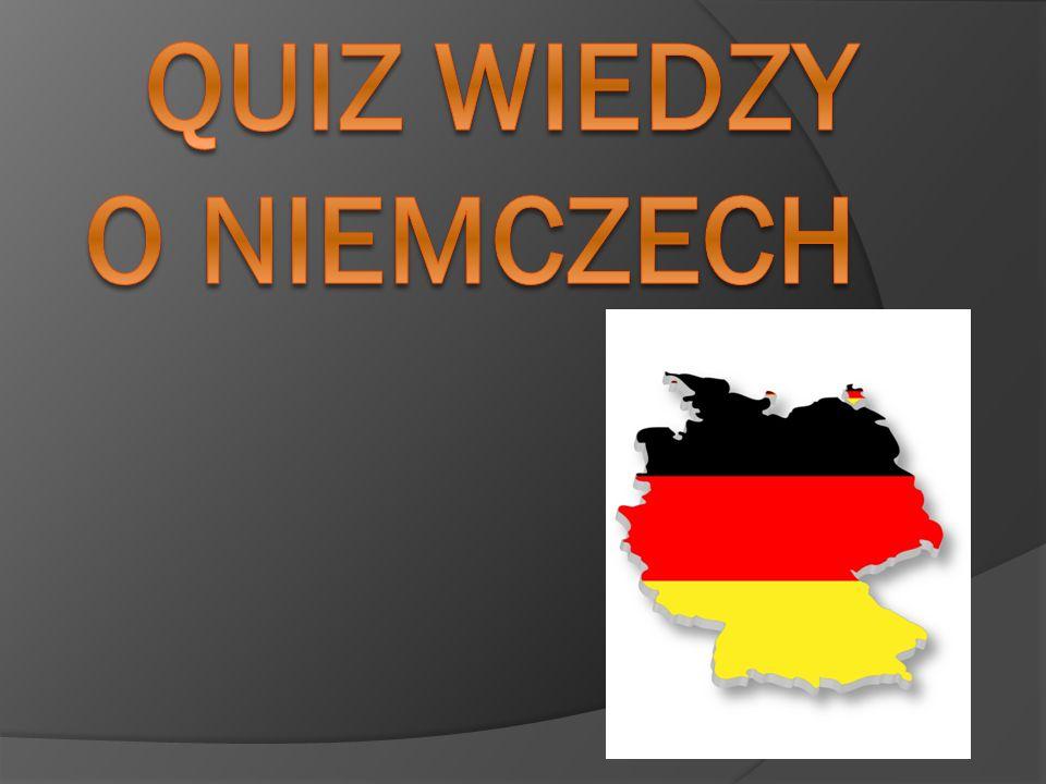 QUIZ wiedzy o niemczech