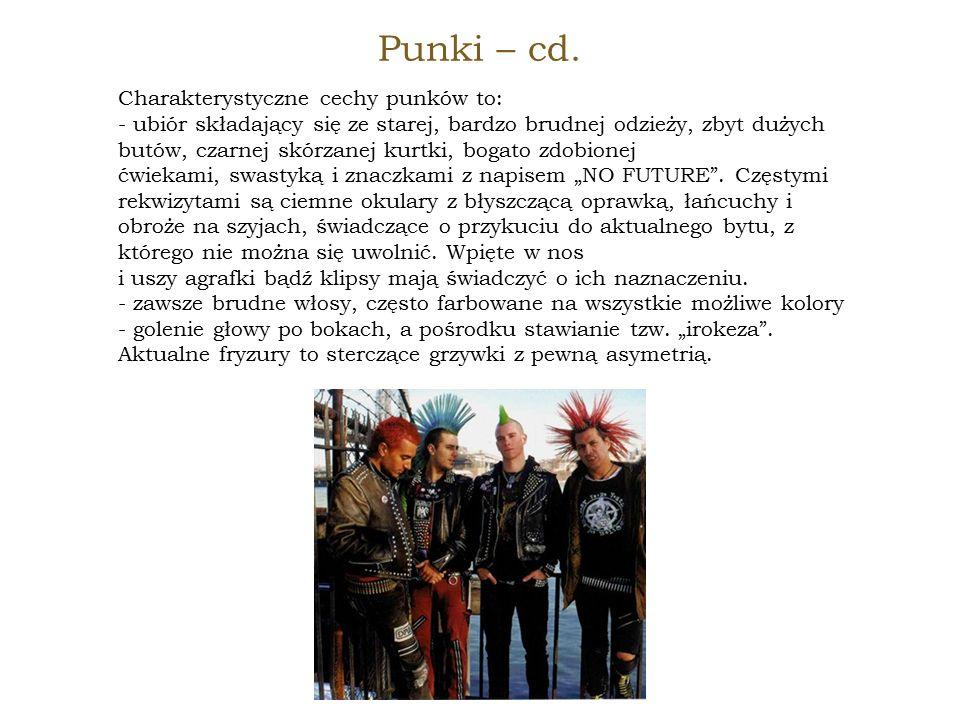 Punki – cd.