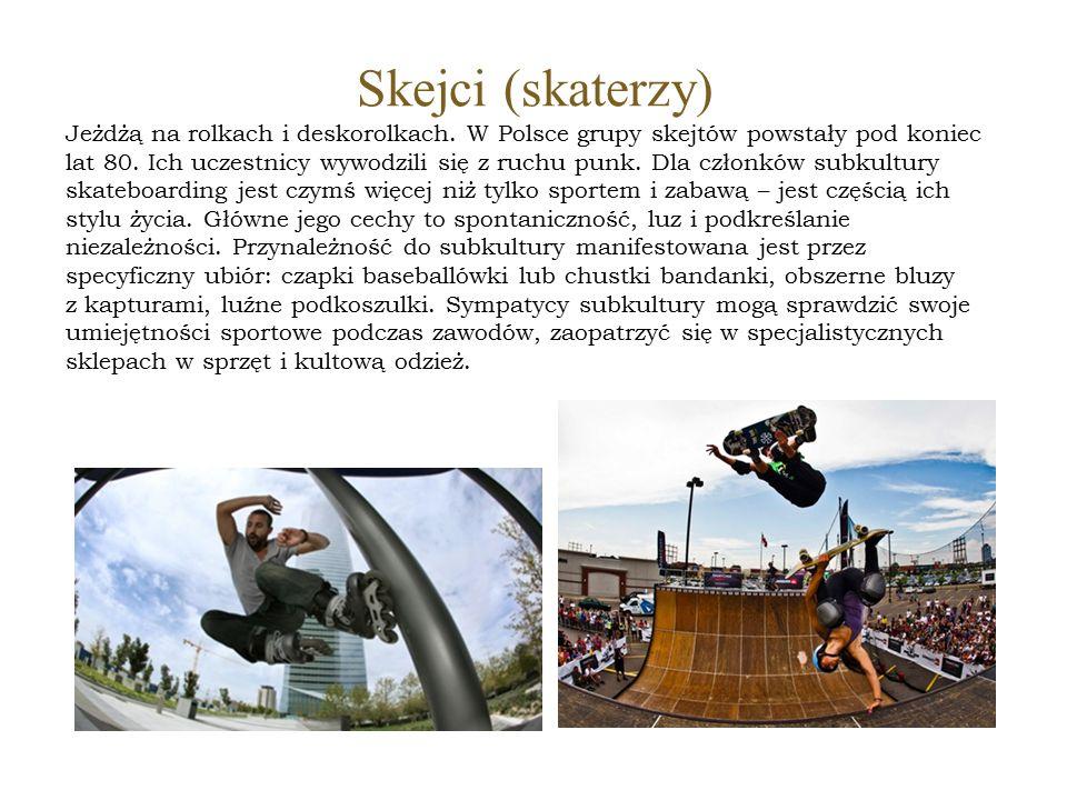 Skejci (skaterzy)