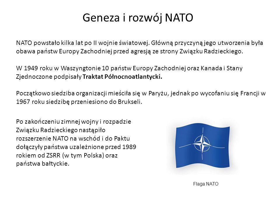 Geneza i rozwój NATO