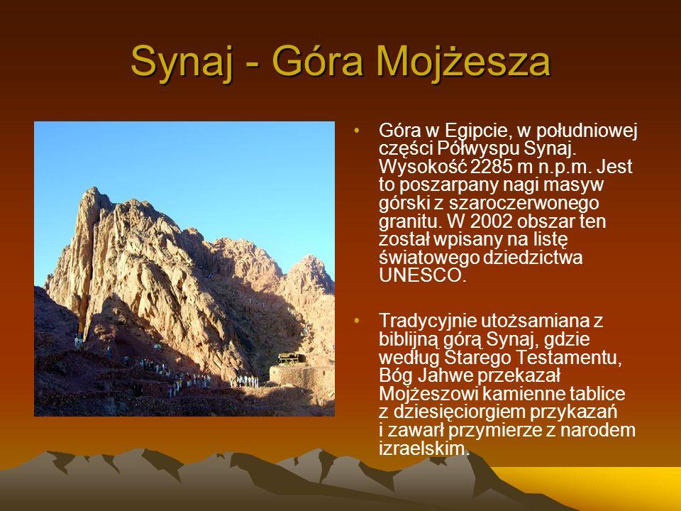 Synaj - Góra Mojżesza