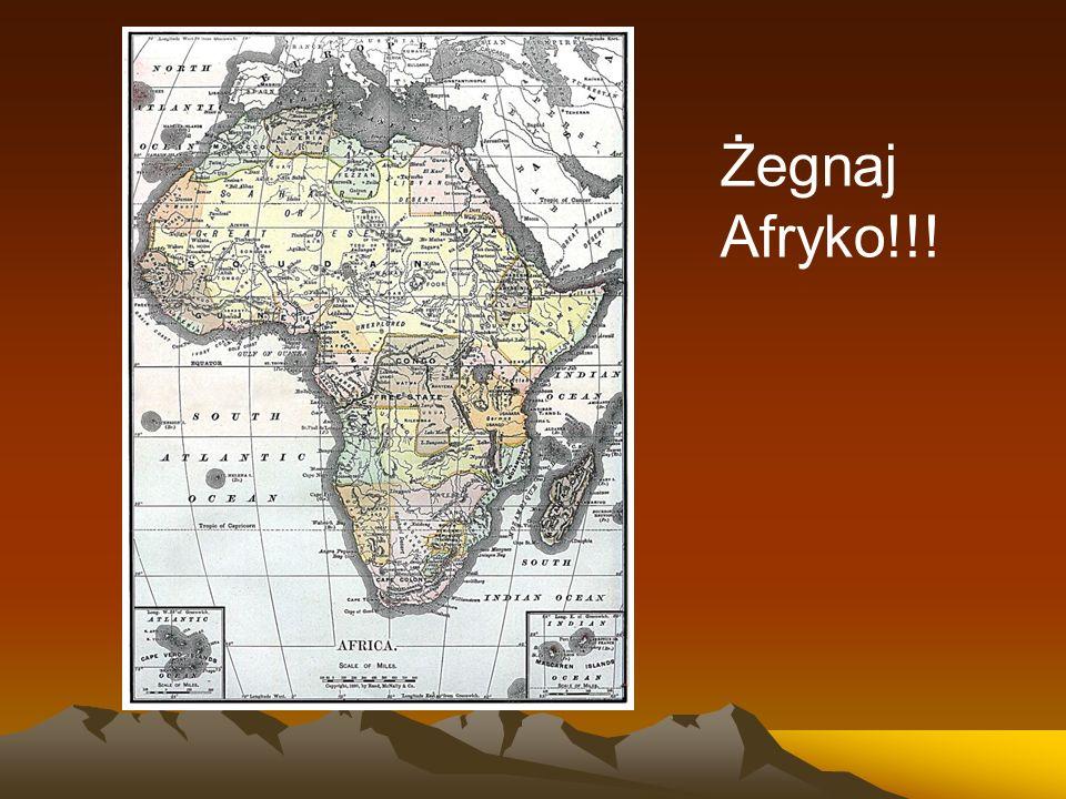 Żegnaj Afryko!!!