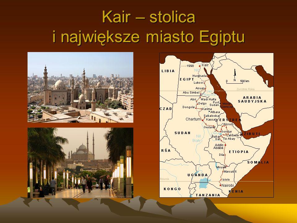 Kair – stolica i największe miasto Egiptu