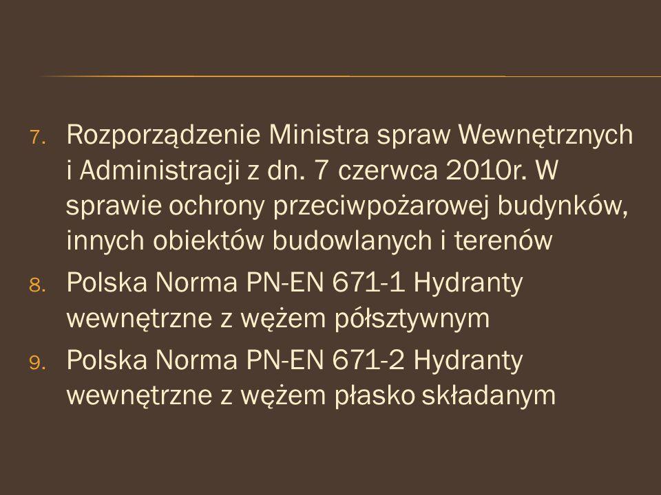 Rozporządzenie Ministra spraw Wewnętrznych i Administracji z dn