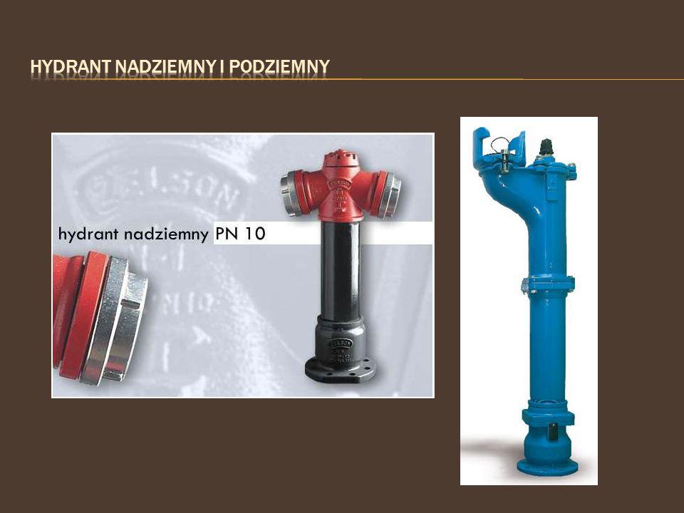 Hydrant nadziemny i podziemny