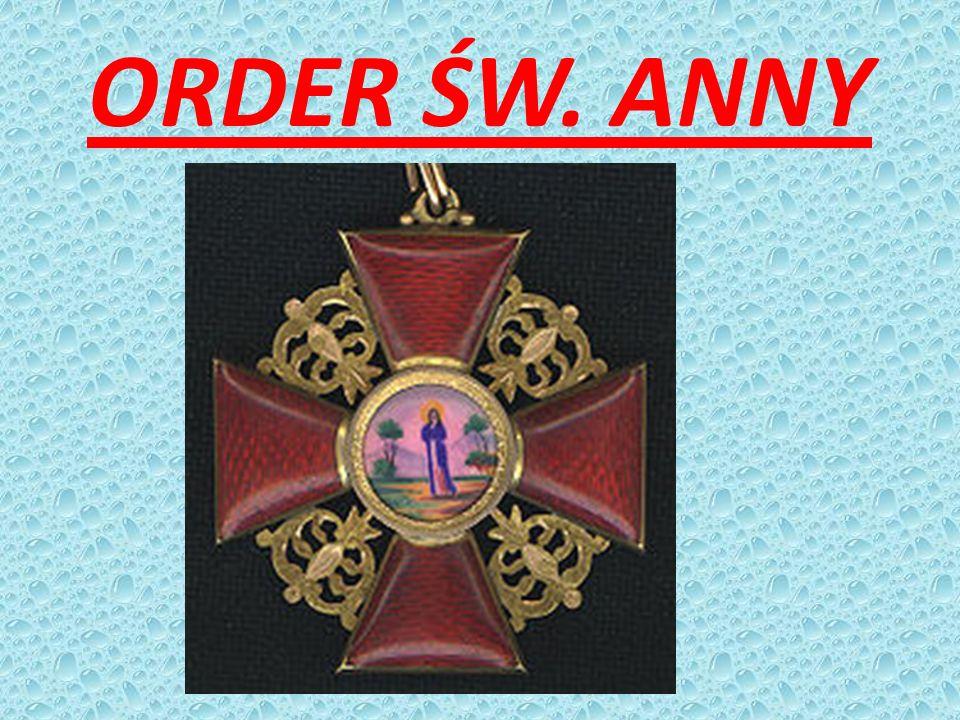 ORDER ŚW. ANNY