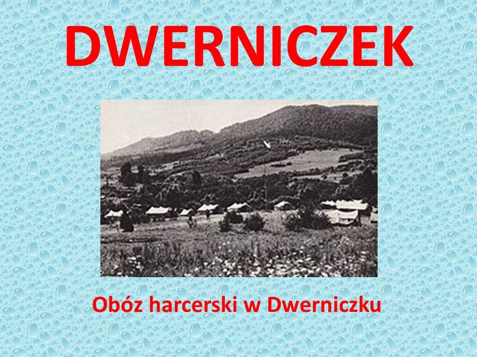 DWERNICZEK Obóz harcerski w Dwerniczku