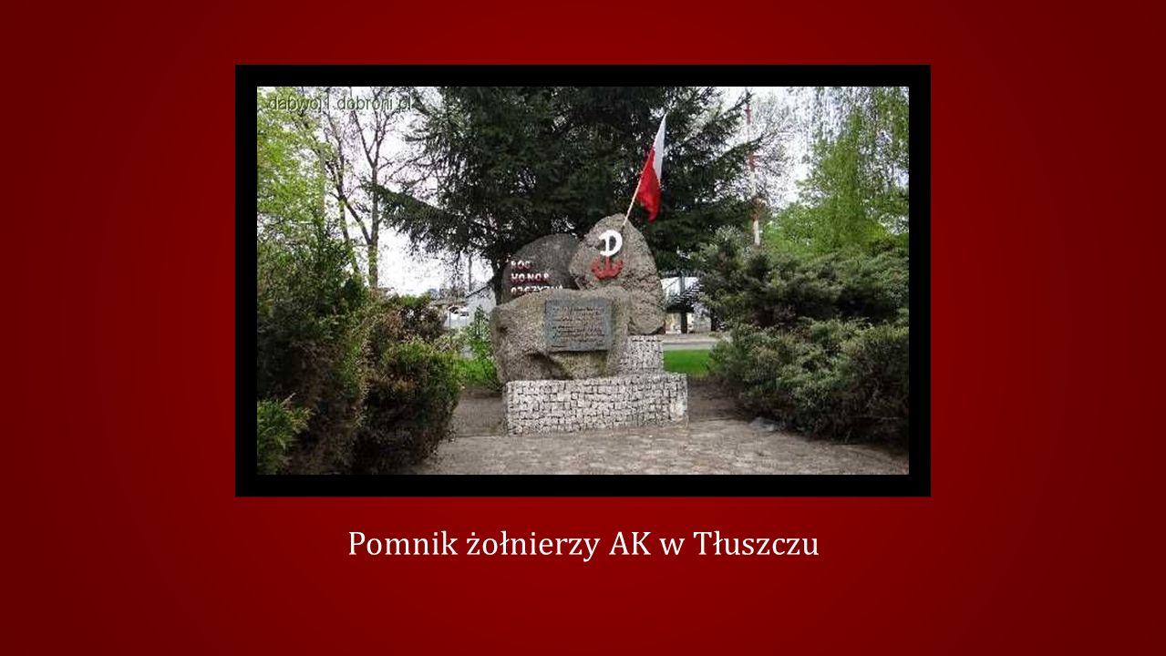 Pomnik żołnierzy AK w Tłuszczu