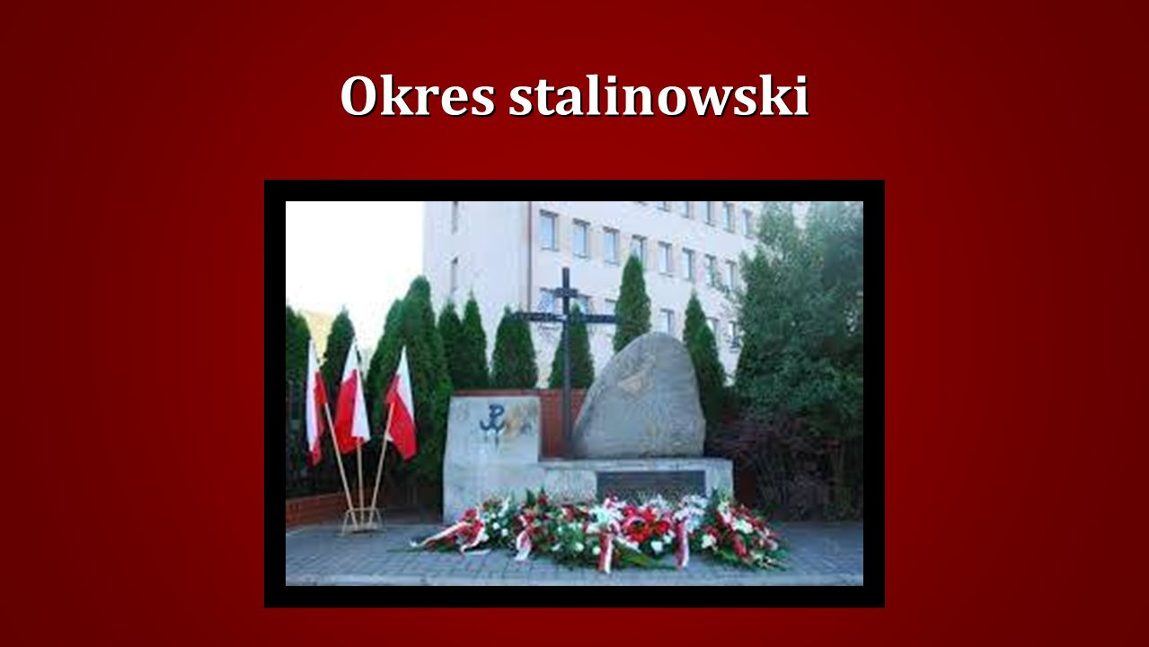 Okres stalinowski