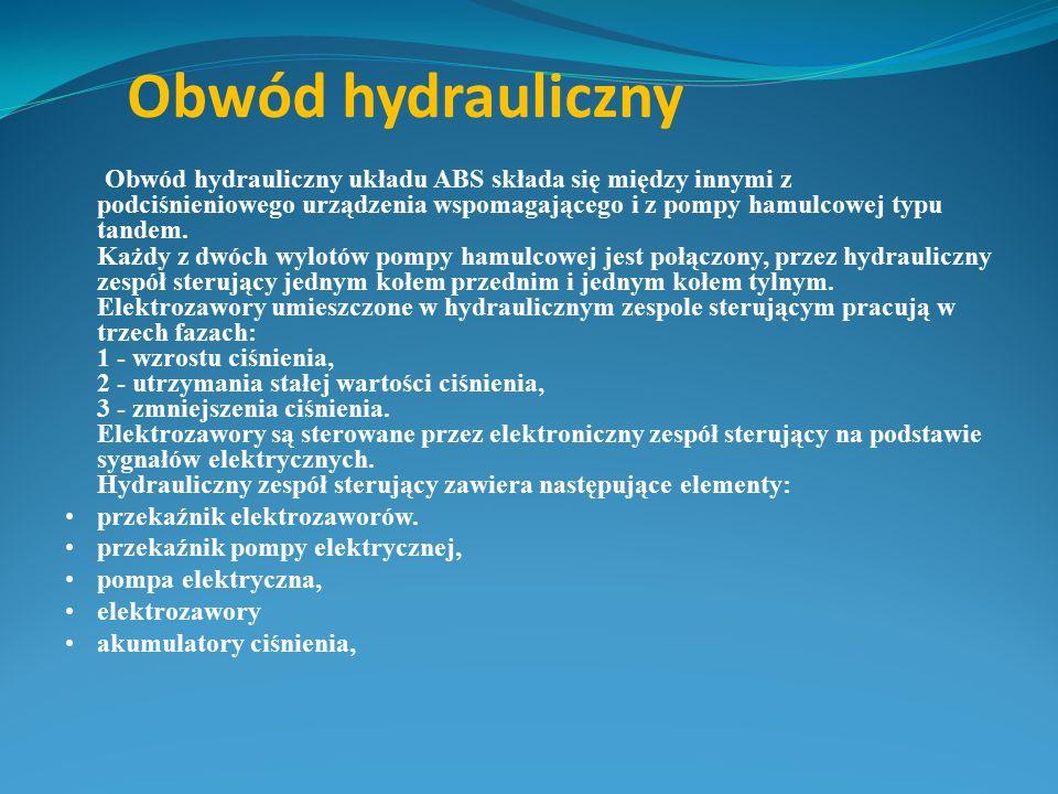 Obwód hydrauliczny