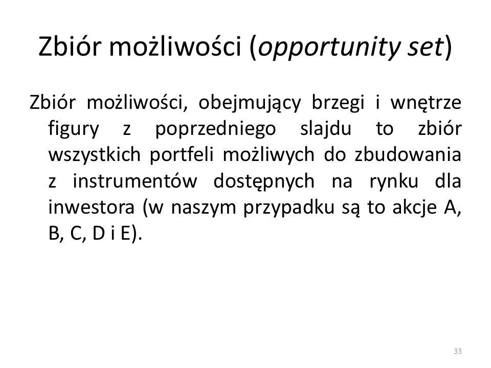 Zbiór możliwości (opportunity set)