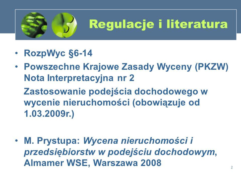Regulacje i literatura