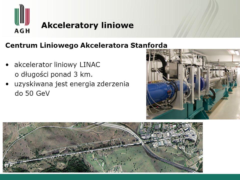 Akceleratory liniowe Centrum Liniowego Akceleratora Stanforda