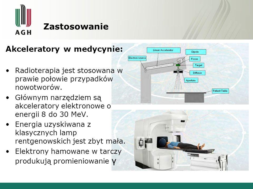 Zastosowanie Akceleratory w medycynie: