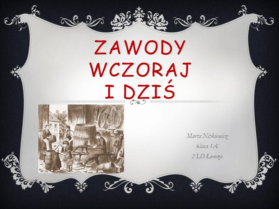 Marta Nitkiewicz klasa 1A 2 LO Łomża