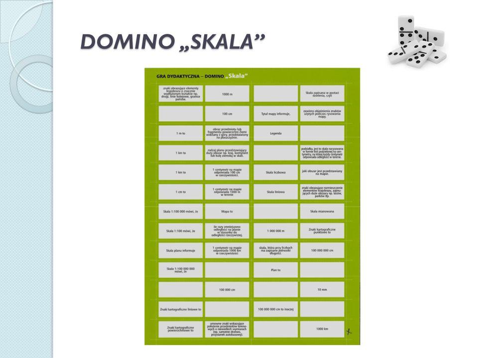 """DOMINO """"SKALA"""