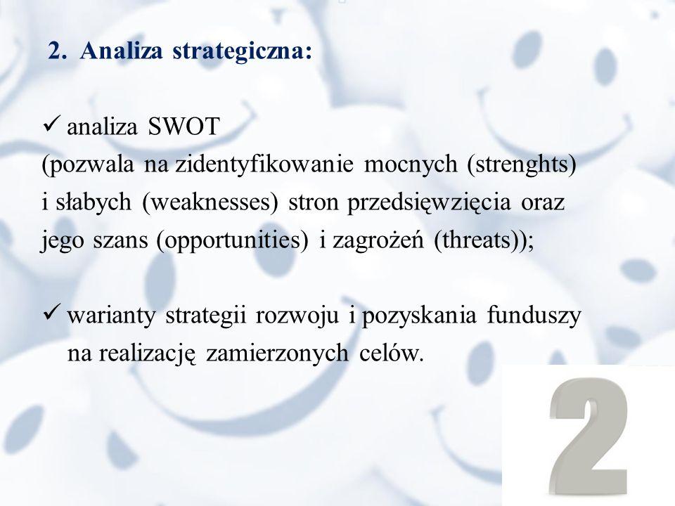 2. Analiza strategiczna: