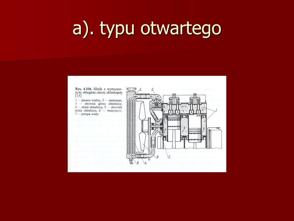 a). typu otwartego