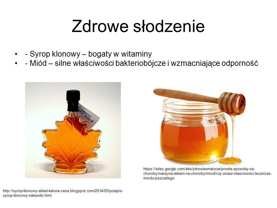 Zdrowe słodzenie - Syrop klonowy – bogaty w witaminy