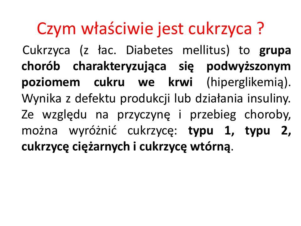 Czym właściwie jest cukrzyca
