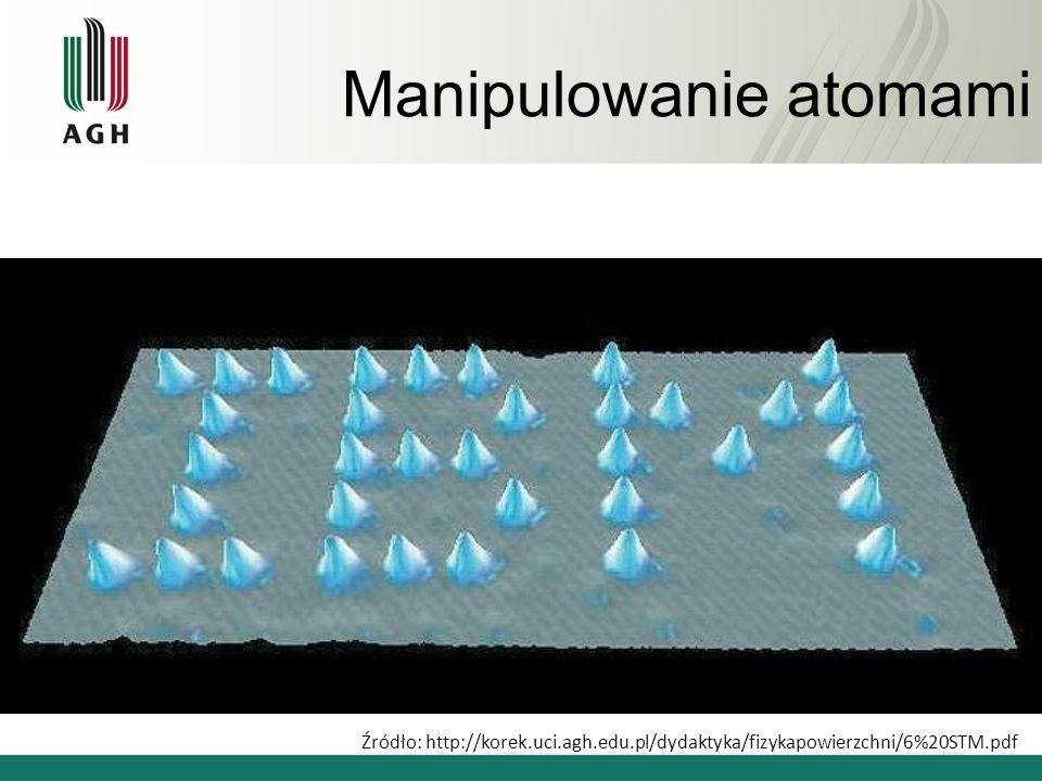 Manipulowanie atomami