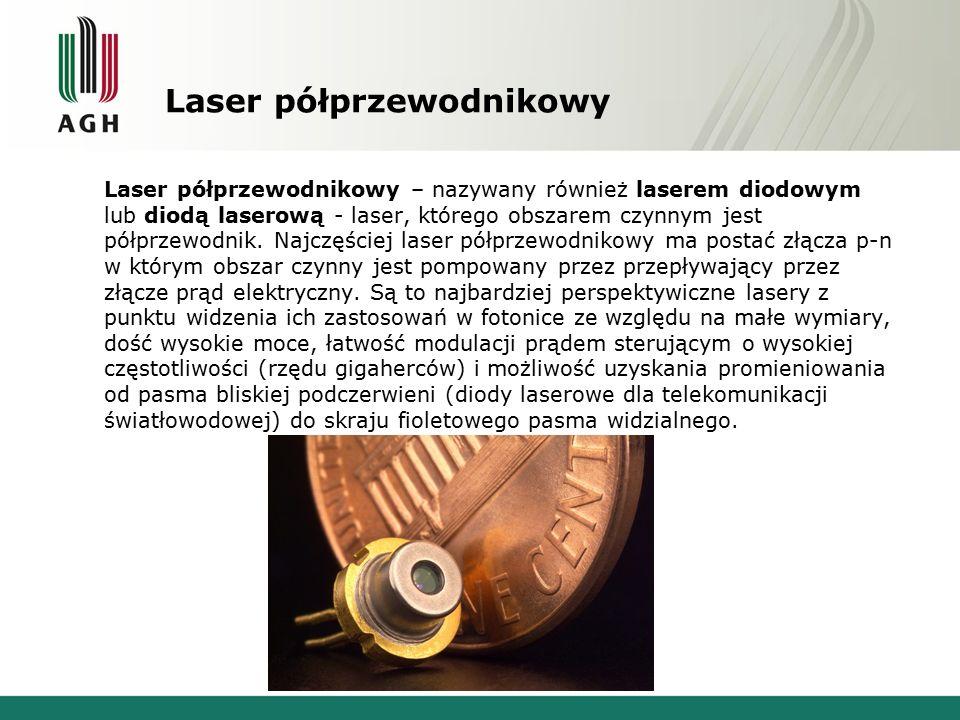 Laser półprzewodnikowy