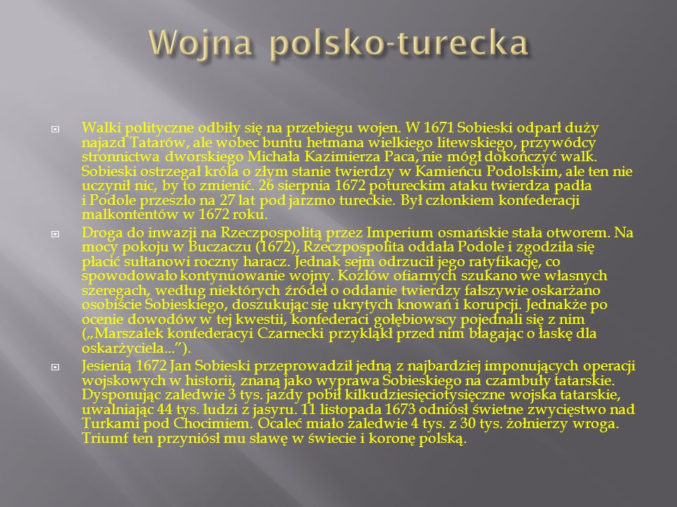 Wojna polsko-turecka