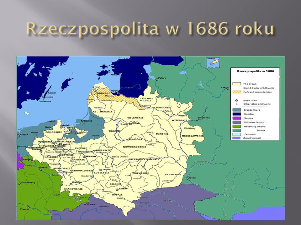 Rzeczpospolita w 1686 roku