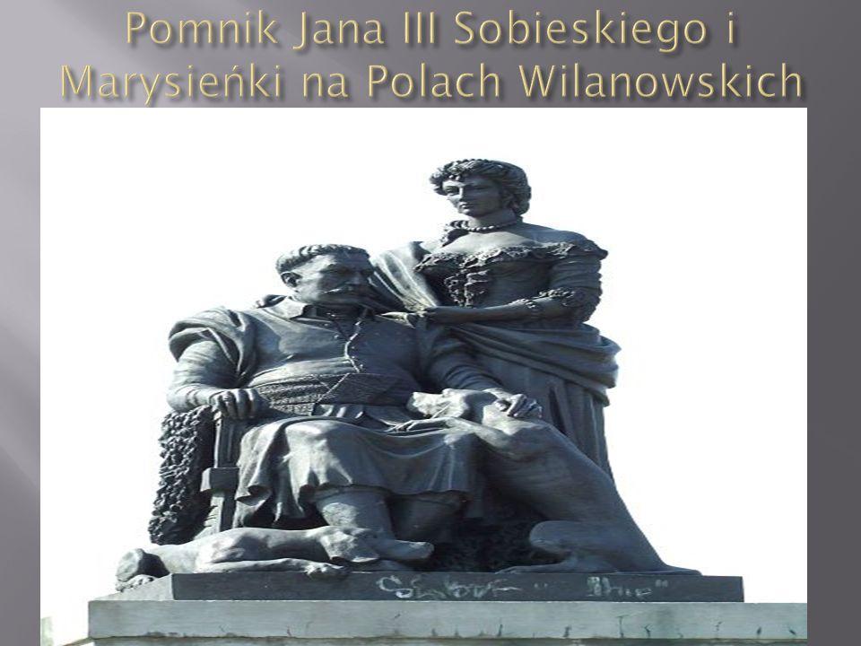 Pomnik Jana III Sobieskiego i Marysieńki na Polach Wilanowskich