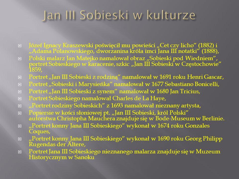 Jan III Sobieski w kulturze