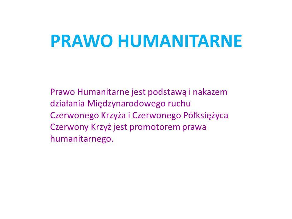 PRAWO HUMANITARNE