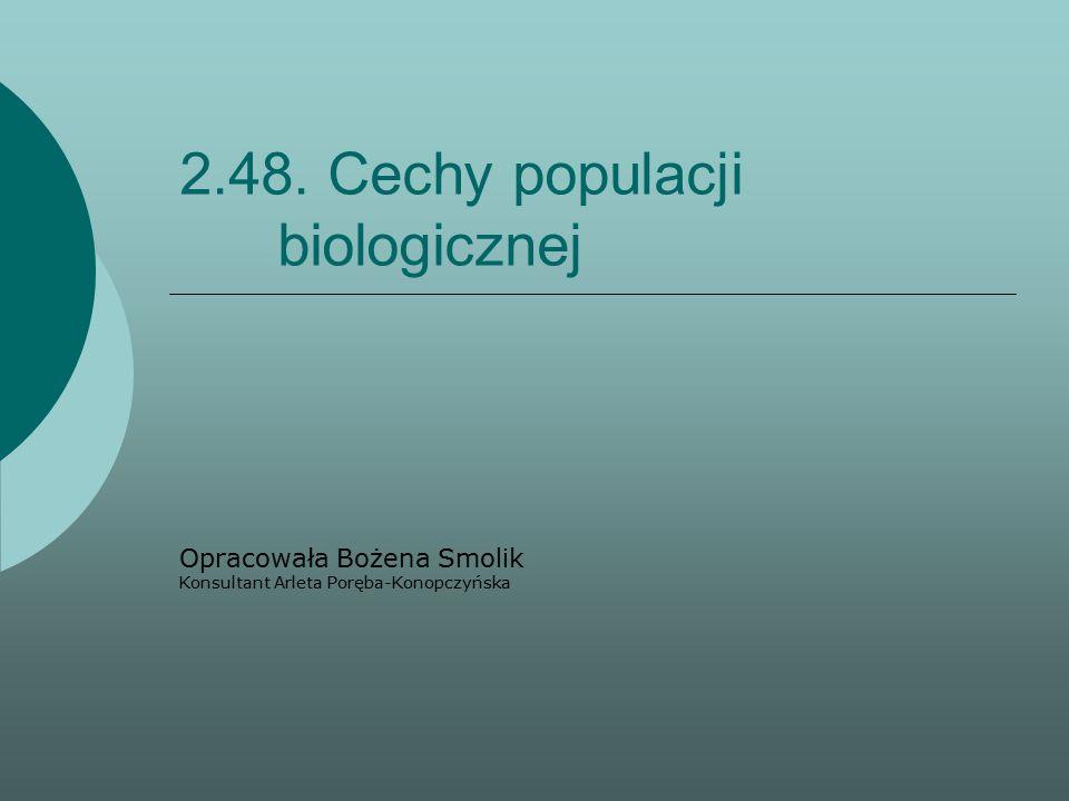 2.48. Cechy populacji biologicznej