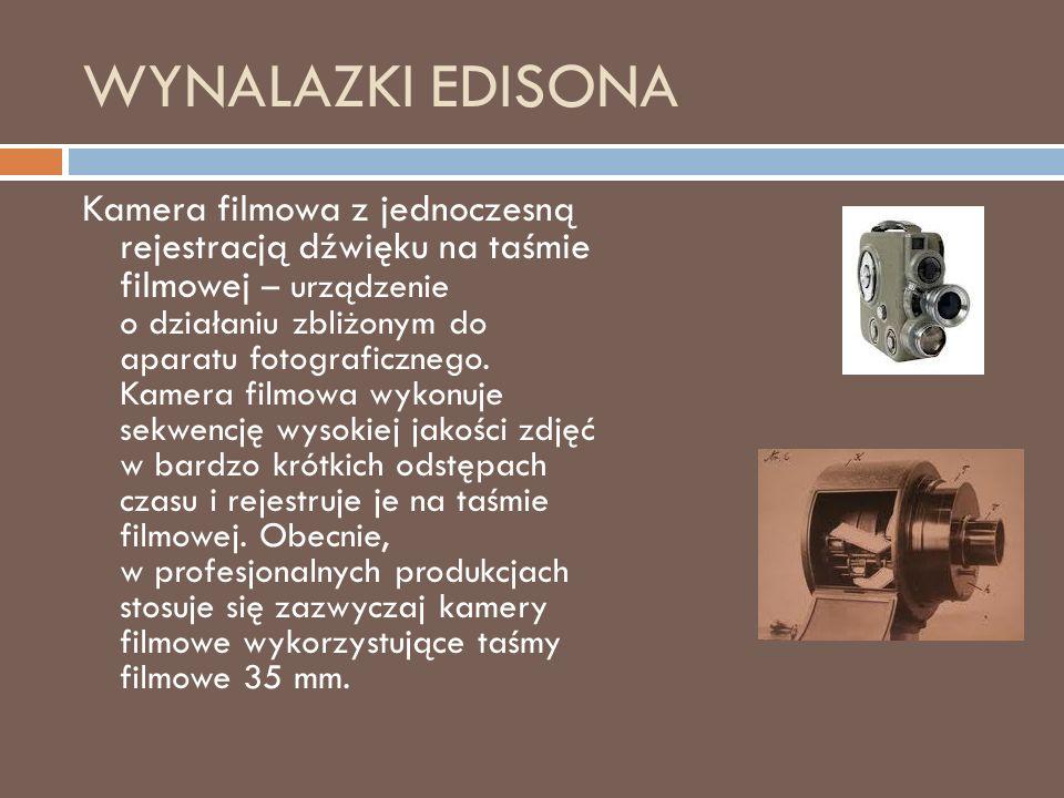 WYNALAZKI EDISONA
