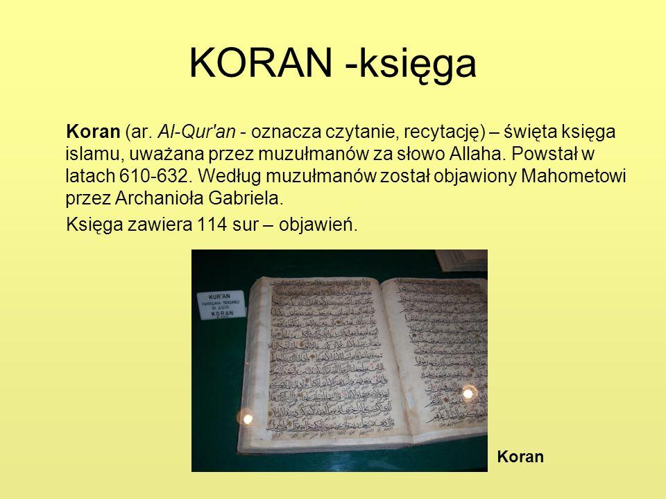 KORAN -księga