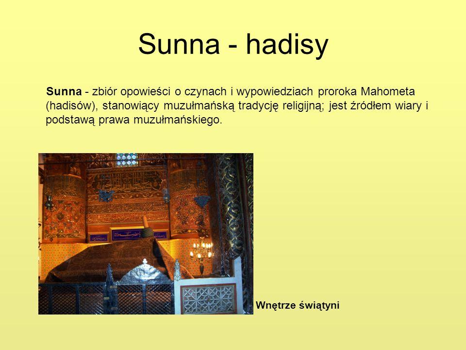 Sunna - hadisy