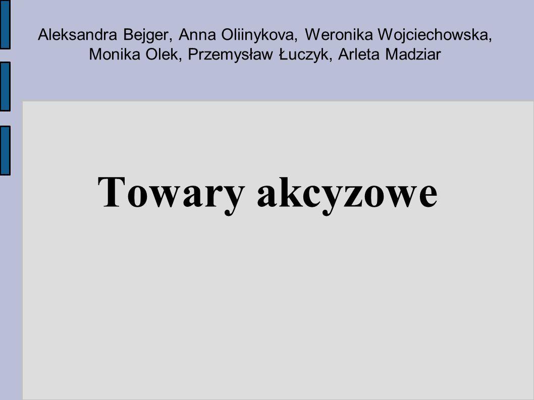 Aleksandra Bejger, Anna Oliinykova, Weronika Wojciechowska, Monika Olek, Przemysław Łuczyk, Arleta Madziar