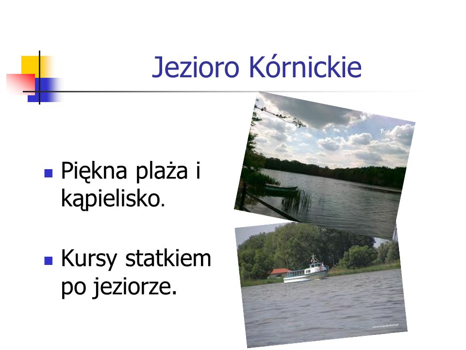 Jezioro Kórnickie Piękna plaża i kąpielisko.