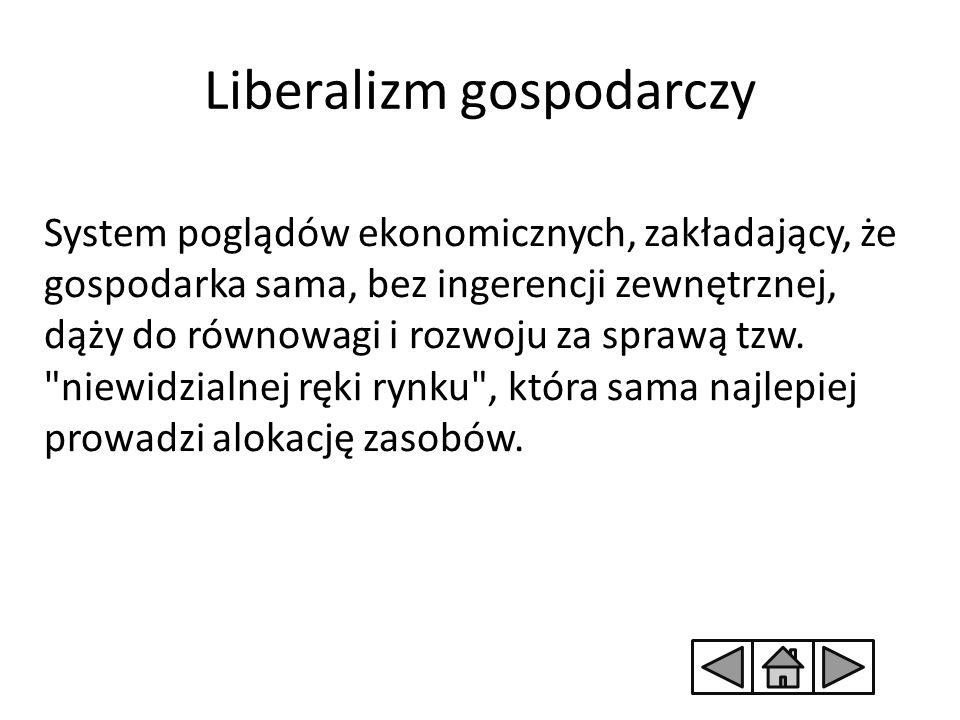 Liberalizm gospodarczy