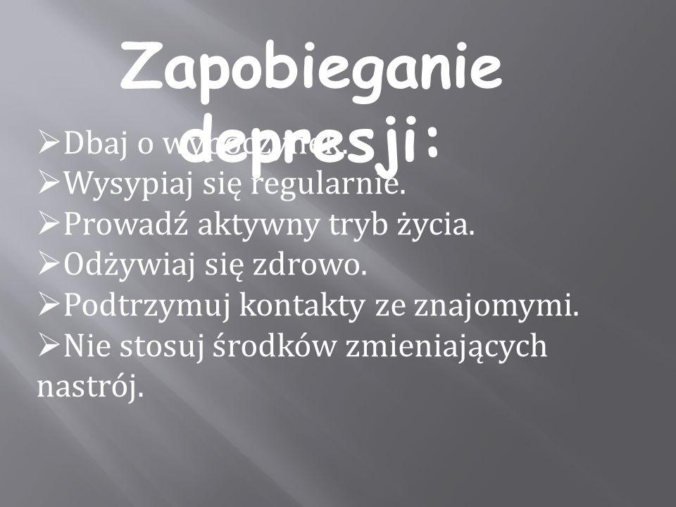 Zapobieganie depresji:
