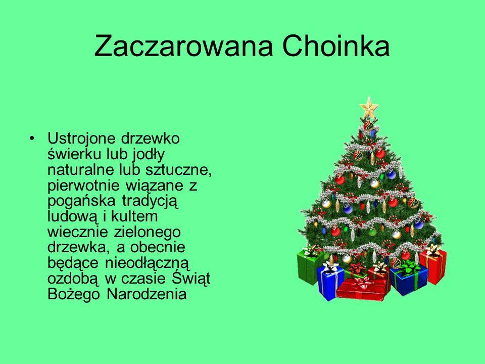 Zaczarowana Choinka